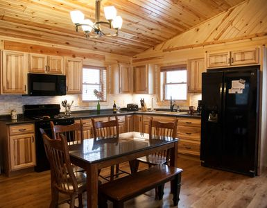 Photo for Northwinds Adventures - Brand New Brook Trout Cabin