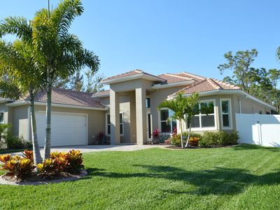 Photo for Modern, new house with pool, 3 bedrooms, 3 bathrooms, your oasis of well-being