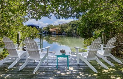 Photo for 3 Bedroom, 2 Bath tranquil waterfront home with heated pool and hot tub!