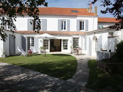 Photo for Large village house with swimming pool, close to beaches and shops
