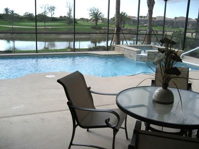 Heated pool & spa, lake and golf course view, faces west for breathtaking sunset