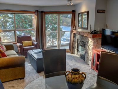 Photo for Prime Ski-in Ski-out Location! Pool, Hot tubs, BBQ, sleeps 4 (353)
