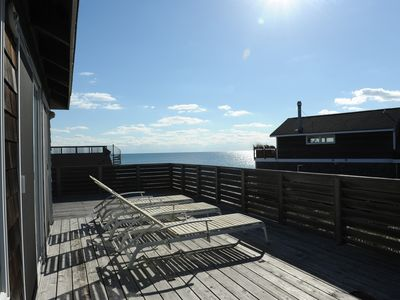 Photo for Spectacular Ocean View From Stunning Wrap Around Deck-Steps From Beach!