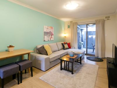 Photo for Cute Coastal Retreat - 1 bedrm Garden Apartment FREE PARKING & UNLIMITED WIFI .
