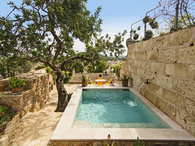 Photo for Typical Stone House In The Centre Of Pollensa. Views Of The Coast from the Pool