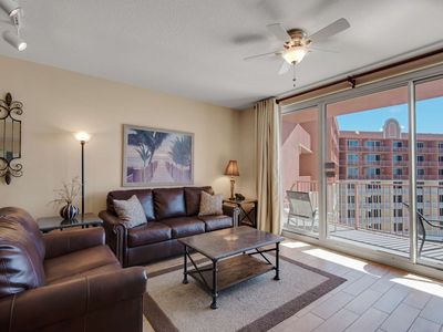 Photo for Gulf Front Master! Wifi, Free Tickets to Gulf World! No Amenity Fees! Shores of Panama 21st Fl