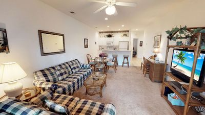 Photo for Relaxing Champions First floor Condo with Golf Course View & Free Parking