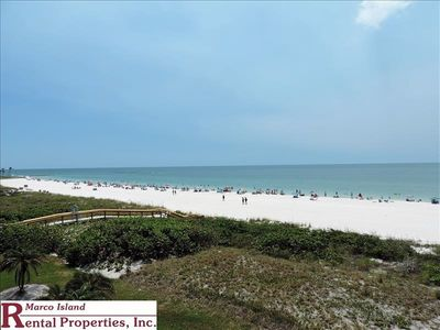 Photo for Sea Winds 306; Beautiful Beachfront 2 Bedroom, 2 Full Bathrooms End unit with full size washer/dryer