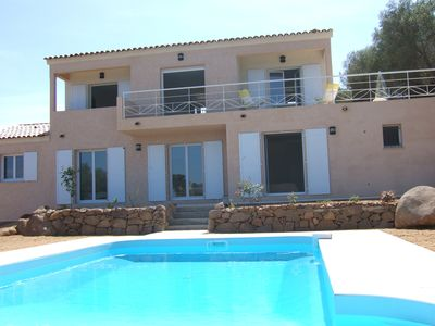 Photo for Large villa with pool for 10 and up with bicycles and kayaks.