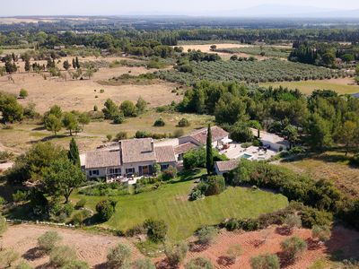 Photo for Mas des Genets, classified 4 ****, private pool, air-conditioned in St Remy de Provence