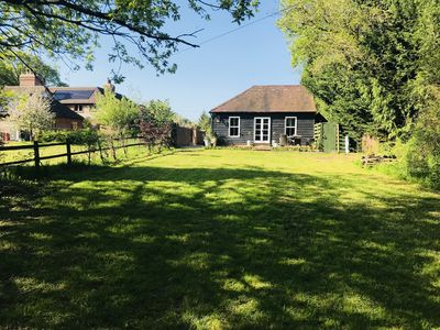 Photo for Sissinghurst Stables, newly converted with a large private garden.