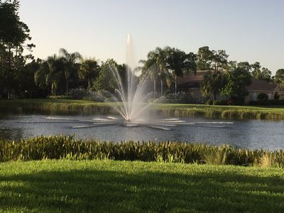 Photo for Colonial Country Club Waterview Single Family Home