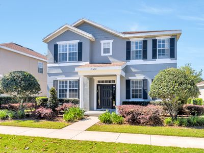 """Photo for Reunion -  Full Golf Access/ Water Park And Tennis access - pool deck TV 55"""""""