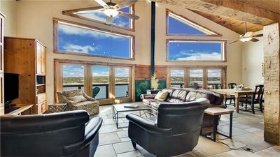 Photo for Lake Travis Waterfront- Large Lake House, 3 Living rooms, game room
