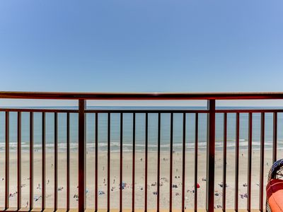 Photo for Oceanfront,14th floor,indoor/outdoor pools,hot tubs,exercise room,game room,lazy river too!