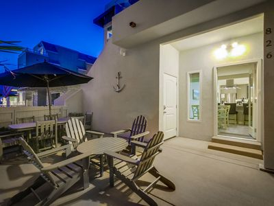 Sunny-Side Rental by 710 Vacation Rentals | Steps to the Beach + AC + Ground Level + Private Patio