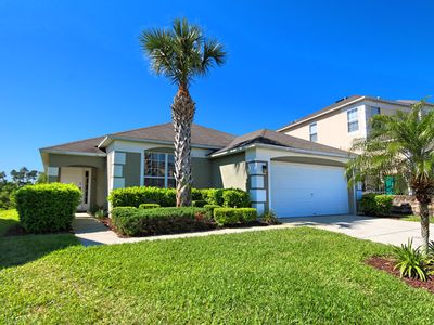 Photo for 4 Miles to Disney Resort! South Facing Pool Home with Conservation Water View