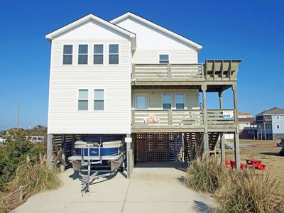 Photo for Beautiful Oceanside 4 bedroom home with a Hot tub and direct beach access.