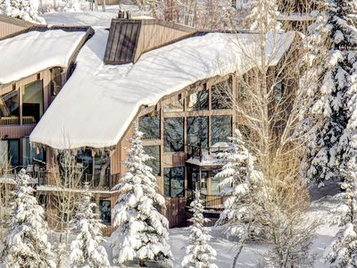 Photo for Luxury townhome with amazing Deer Valley views! Minutes from slops and Main Street!