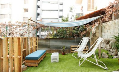 Photo for Lebanese flat with Garden & Flying Bed - Mar Mikhael