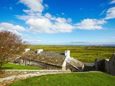 View from behind the property with Lahinch in the distance