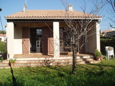 Photo for Large air-conditioned villa 3 bedrooms sleeping 8 quiet with large garden