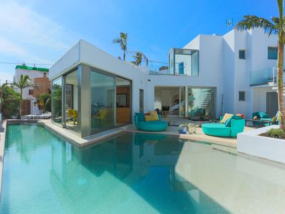 Photo for BEAUTIFUL VILLA IN THE HEART OF DEN BOSSA BEACH