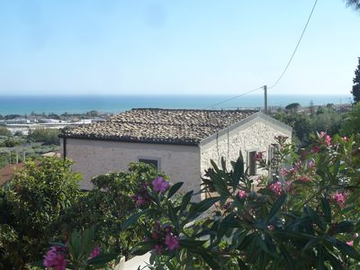 Photo for Villa with panoramic views two minutes from the sea