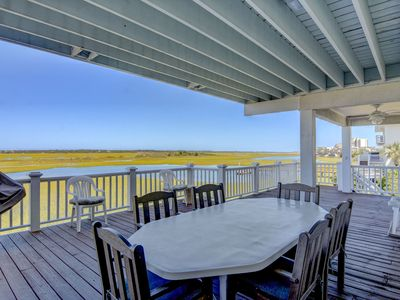 Photo for Atlantis-Wonderful sound front home on the North End of Wrightsville Beach