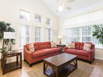 Photo for Disney On Budget - Emerald Island Resort - Beautiful Relaxing 4 Beds 3.5 Baths Townhome - 3 Miles To Disney