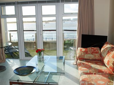 Photo for Superb studio flat with stunning sea views