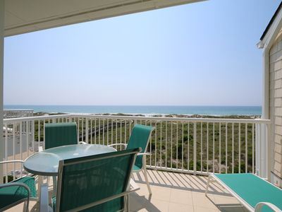 Photo for Wrightsville Dunes 3B-F - Oceanfront condo with community pool, tennis, beach