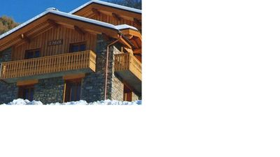 Photo for chalet 12 people with sauna, wifi, garage, ground, 150 m tracks and shops