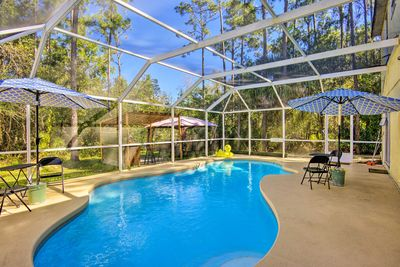 Embark on the ultimate family vacation to this 5-bedroom, 3-bath Kissimmee home!