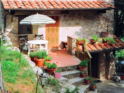 Photo for Quiet and fully equipped villa in the Apuan Alps, Tuscany