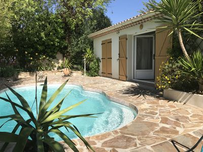 Photo for Rental of charm; private spa, private pool ... ...
