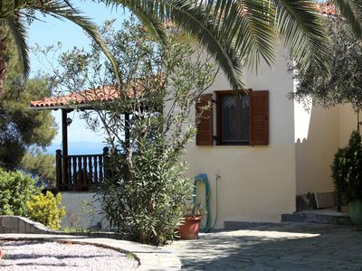 Photo for Detached holiday home with unique sea view, perfect located at the sea, Wifi | A