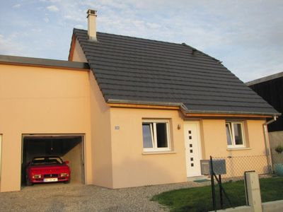 Photo for Colmar Detached House 3 Bedrooms 6 People Garage Land