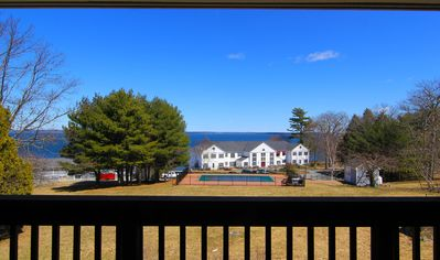 Photo for Views of Frenchman Bay, Walk to downtown Bar Harbor, Air-conditioned, Parking