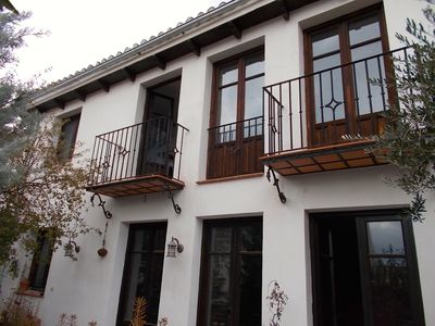 Photo for Huge space, Alhambra views, great location, upper Albaicin, terraces, fireplaces