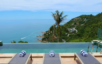 Photo for The Calvie: Luxury Sea Views and Infinity Pool