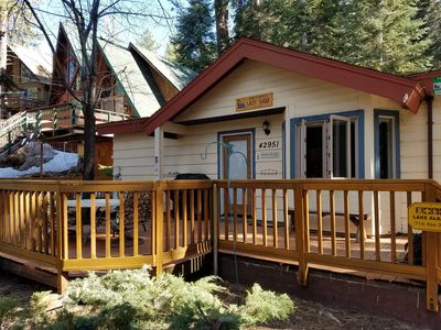 Photo for Rates REDUCED this Saturday - 1 night min- 1 mile from Bear Mtn Resort!