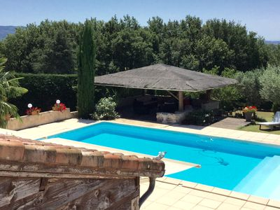 Photo for TARN 45 'ALBI, beautiful air-conditioned house, 4 bedrooms, pool, jacuzzi, large garden