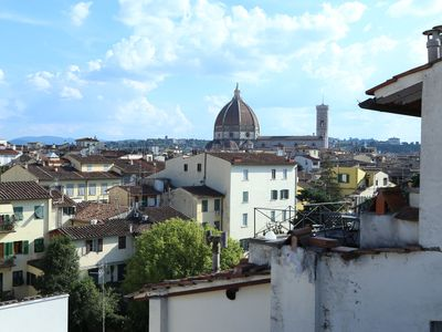 loft, in the center of Florence, with breathtaking views