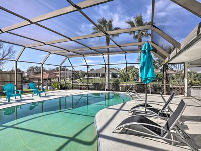 Photo for NEW! Canalside Palm Coast Home w/ Dock & Pool!