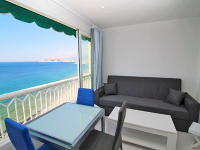 Photo for Beautiful first line beach apartment in Benidorm