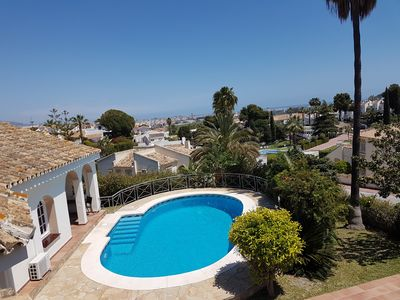 Photo for Villa with private pool, good location and sea view