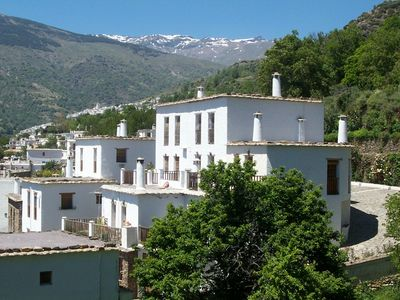 Photo for Mountainous region near the coast. Apartment With Seasonal Shared Pool In Bubion