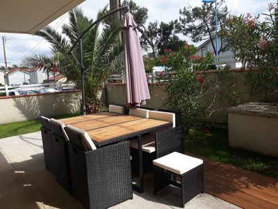 Photo for Apartment T4 in the Golden Triangle at 30 meters from the main beach