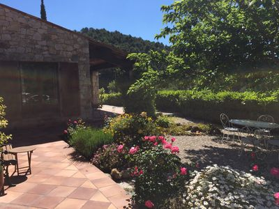Photo for Stunning Provencal Stone House with incredible views and garden